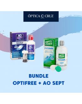 Bundle Optifree Puremoist 300ML + AoSept 90ML
