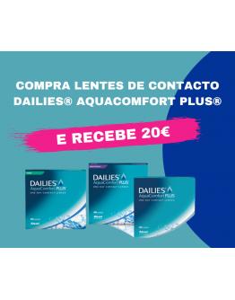 Dailies Aqua Comfort Plus 2X90 *CASHBACK