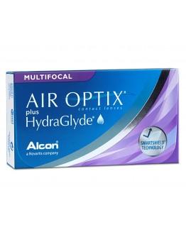 Air Optix Hydraglyde Multifocal (3 lentes)